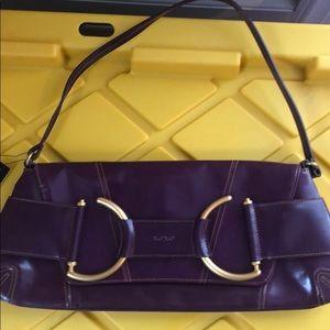 Purple xoxo bag NWT